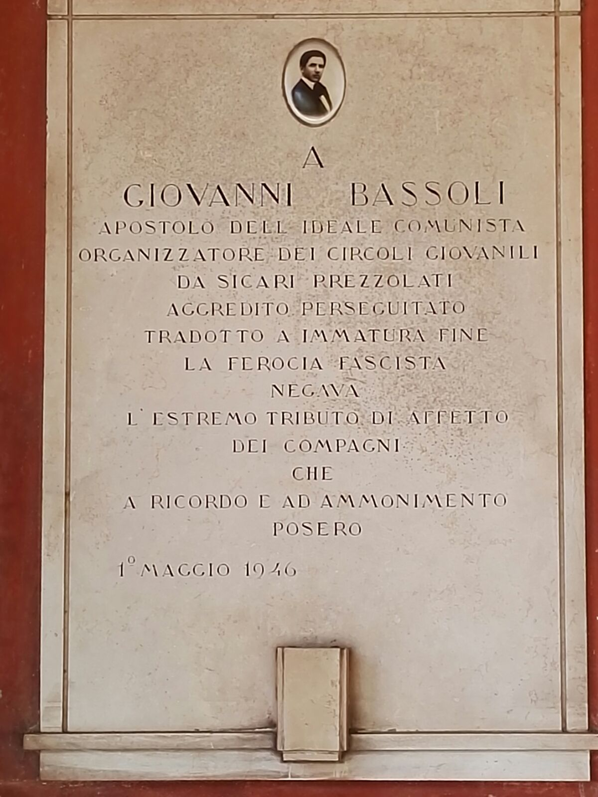 Giovanni Bassoli antifascista