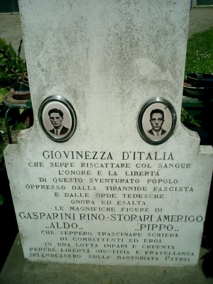 Cippo via Margotta