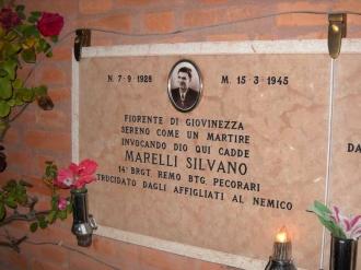 Cippo cimitero Marelli