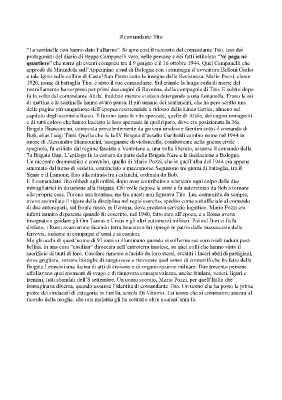 Articolo dedicato al Comandante dopo l'intervista di gennaio 2012
