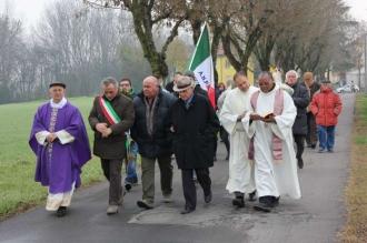 Mario Borghi, Cesarino Calanca, Oles Pecorari